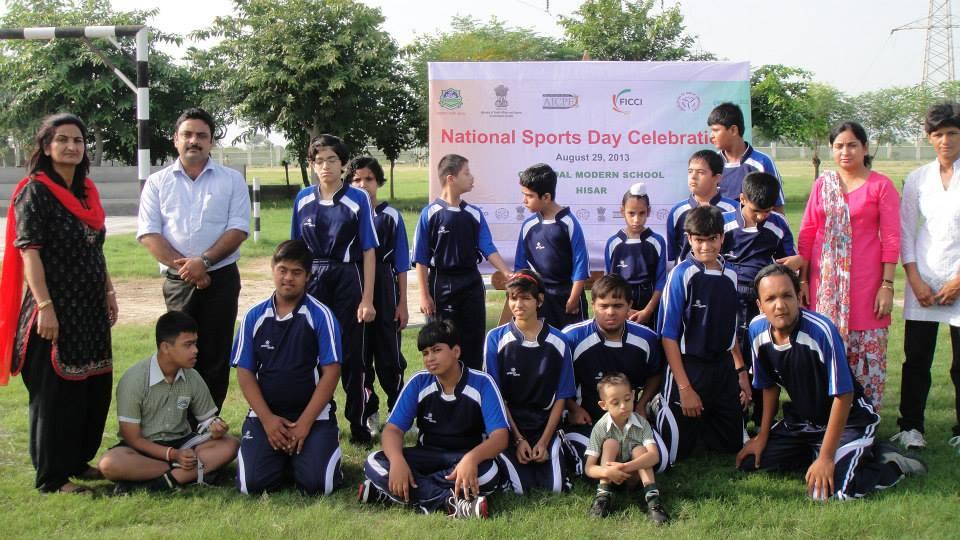 National Sports Day Celebrations